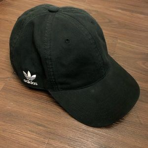 Adidas Simple Logo Black Baseball Hat